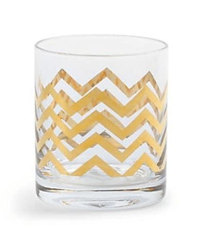 golden dof glasses set