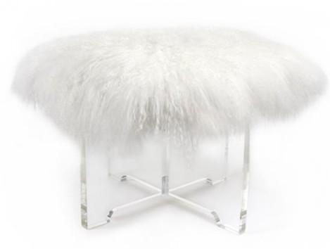 mongolian lamb stool