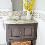 pottery barn inspired bathroom vanity