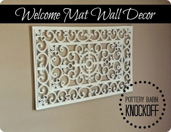 welcome mat wall decor