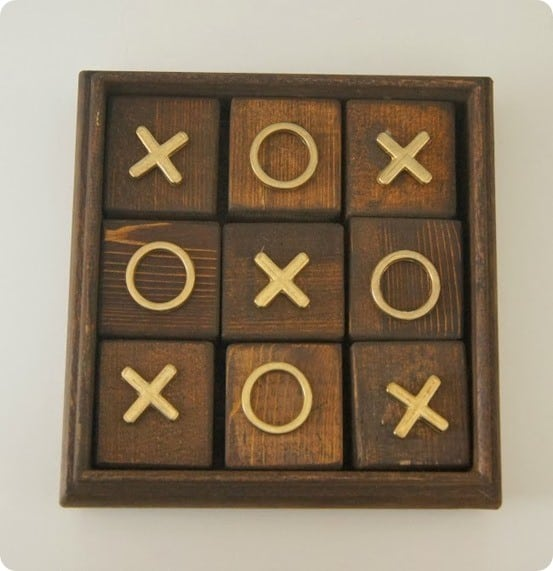 DIY Tic Tac Toe game