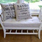 DIY Tufted Bench Cushion