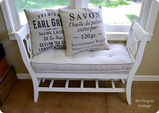 Diy Tufted Bench Cushion Knockoffdecor Com