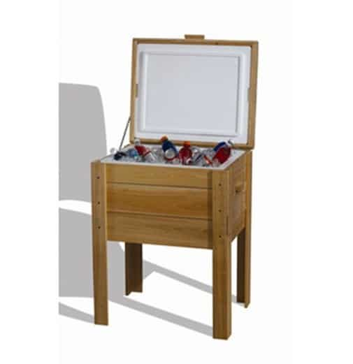 Gift ideas for dad 4 wooden cooler stand