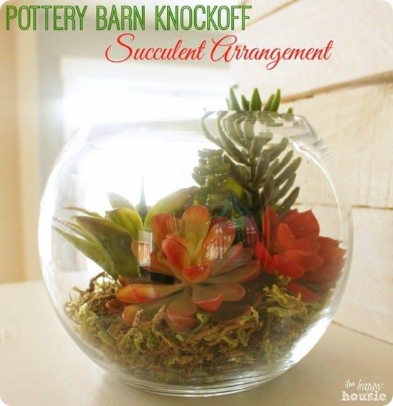 Pottery-Barn-Knock-Off-Succulent-Arrangement