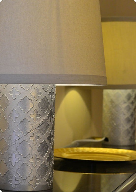 Patterned Lamp From Recycled Container Knockoffdecor Com