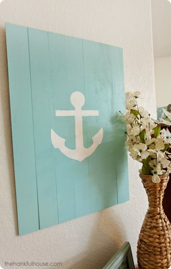 anchor pallet sign