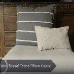 No-Sew Pom Pom Pillow Cover