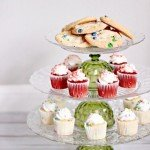 Tiered Dessert Stand for Entertaining or Decorating