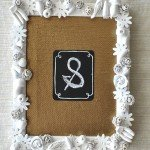 Fruit and Flower Embellished Picture Frame