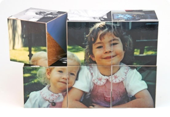 diy wood photo blocks
