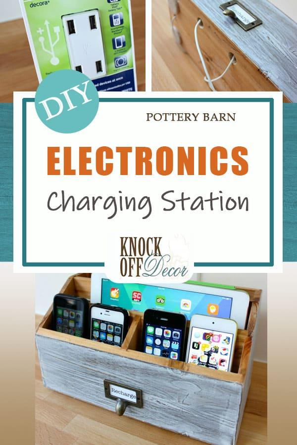 Pottery Barn Electronics Charging Station