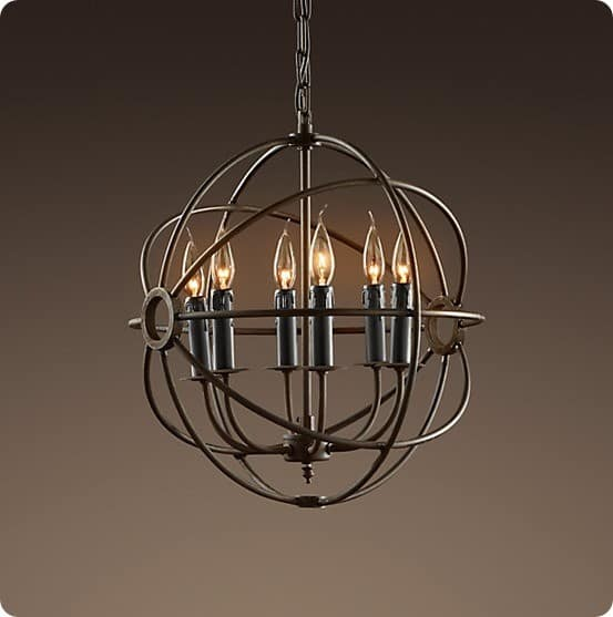 foucaults orb chandelier