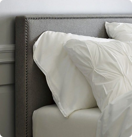 nailhead upholstered headboard