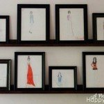 5-Foot Picture Display Ledges