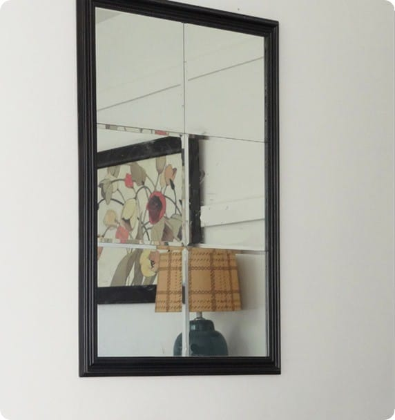 pottery barn knock off mirror