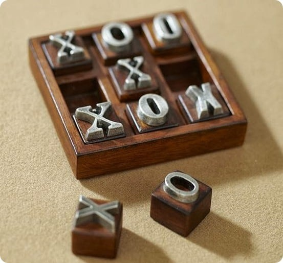 Gift Ideas For Dad 10 Wooden Tic Tac Toe Game