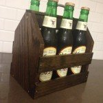 Gift Ideas for Dad #2: Wooden Six-Pack Bottle Crate