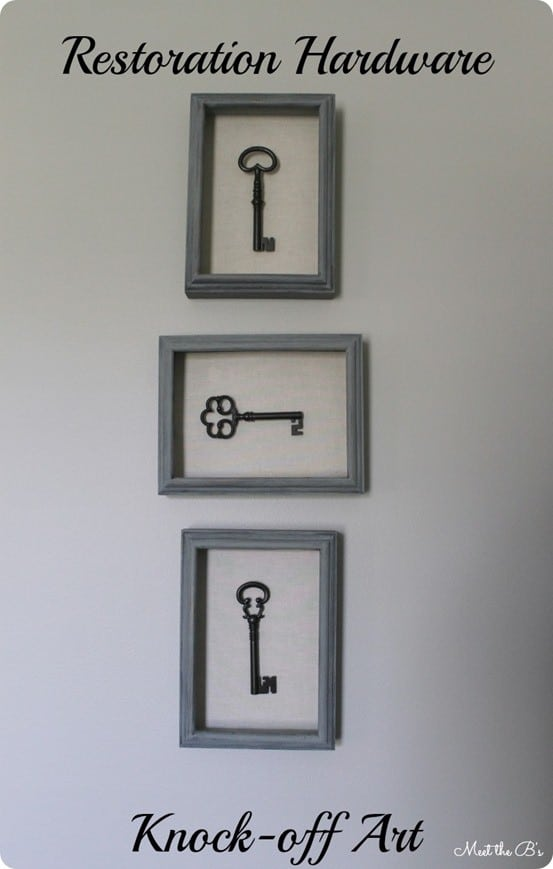Skeleton Key Shadow Box Art