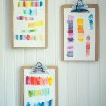 Super Easy Watercolor Brushstroke Art