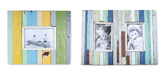 boat wood photo frames