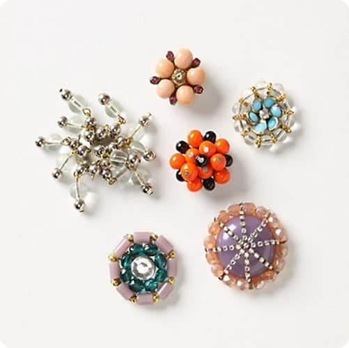 costume jewelry magnets