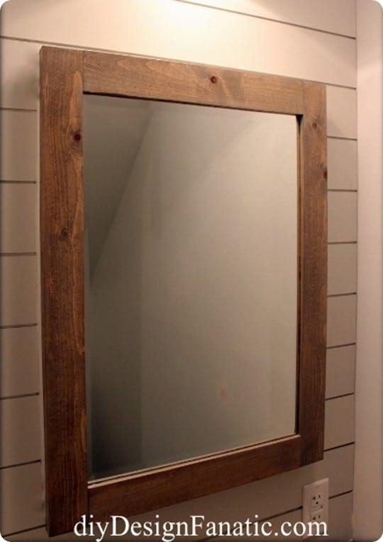 Custom Framed Medicine Cabinet