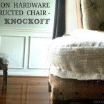 Deconstructed Chair Makeover
