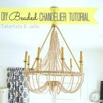 Extra Large Wood Bead Chandelier