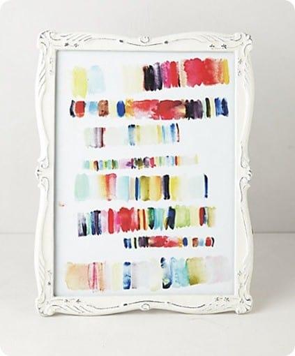 enamel art frame