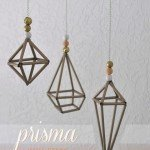 Hanging Geometric Sculptures for Only $4