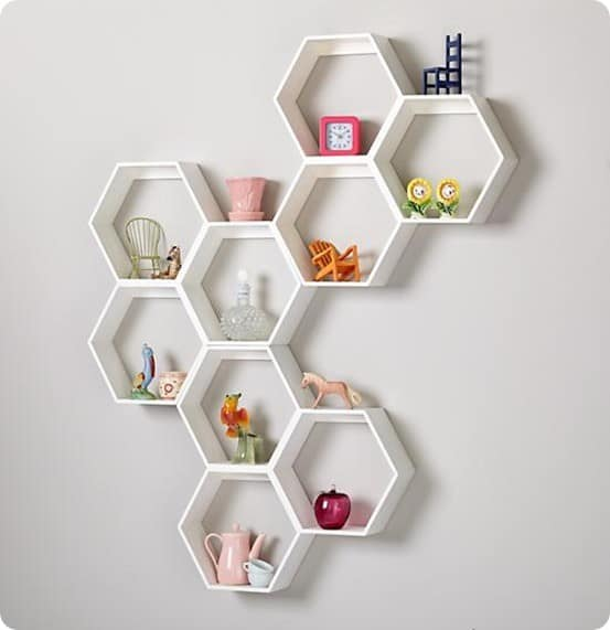 honeycomb-wall-shelf-white