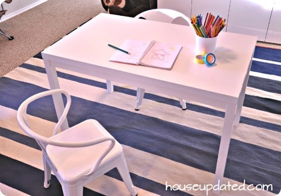 kids art table for $20