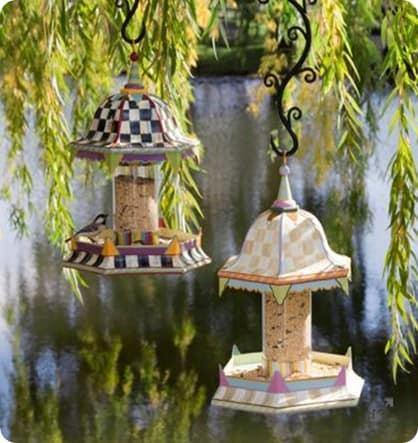 mackenzie childs bird feeder