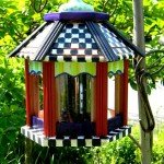 mackenzie childs knock off bird feeder