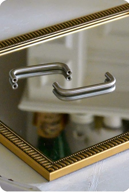 Handles for Mirror Tray