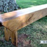 The Three Board Bench