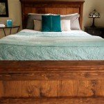 Rustic Wood Farmhouse Bed