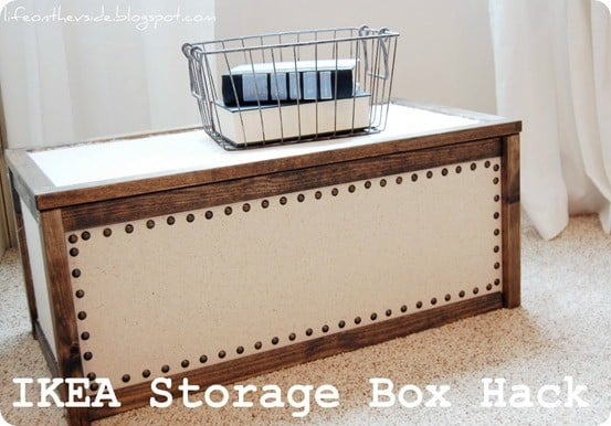 Ikea Storage Box Hack