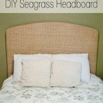 Turn a Seagrass Rug into a Headboard