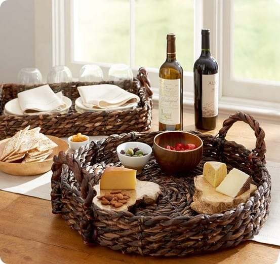Easy Rustic Rope Serving Tray