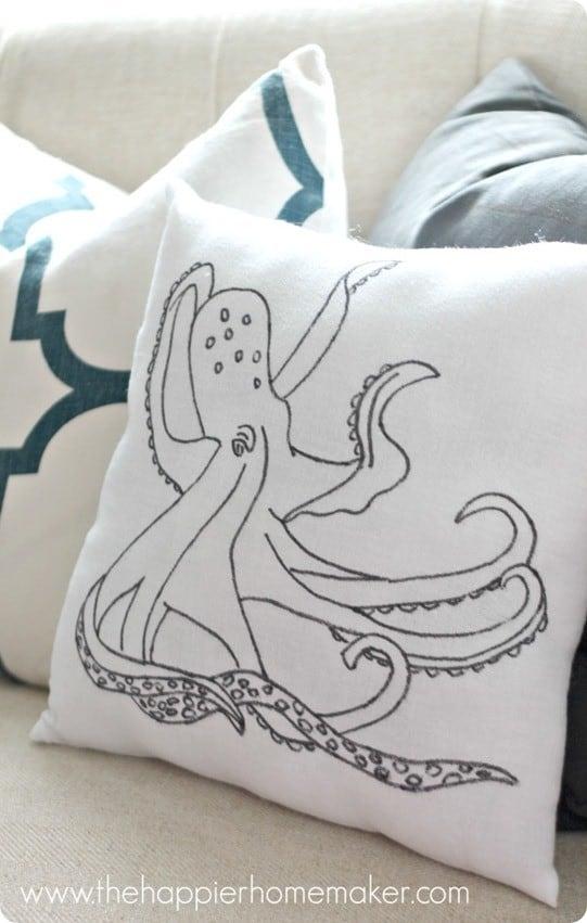 diy-anthro-knock-off-pillow-octopus