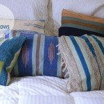 DIY Kilim Pillows from Rugs