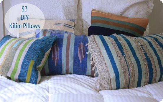 Diy Kilim Pillows From Rugs Knockoffdecor Com
