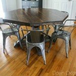 Octagon-Shaped Dining Room Table
