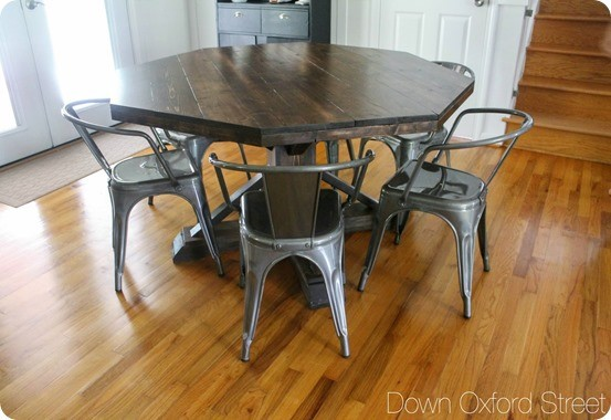 Octagon Shaped Dining Room Table Knockoffdecor Com