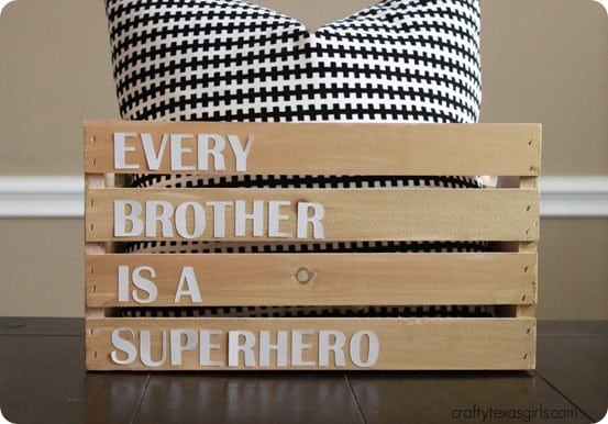 every brother is a superhero crate