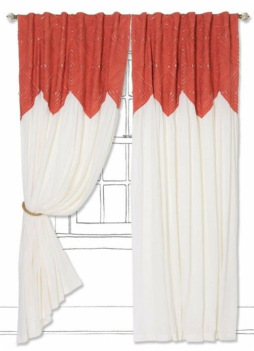 pheasant eye curtain
