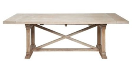rencourt extension dining table
