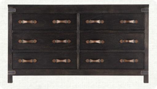 tremont 6 drawer dresser